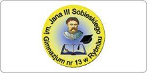 Gimnazjum nr 13 w Rybniku - logo