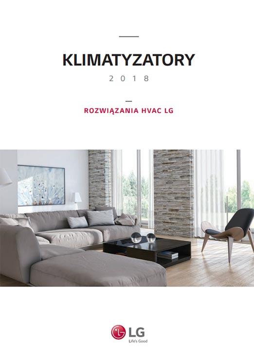 Katalog klimatyzatorów LG - 2018