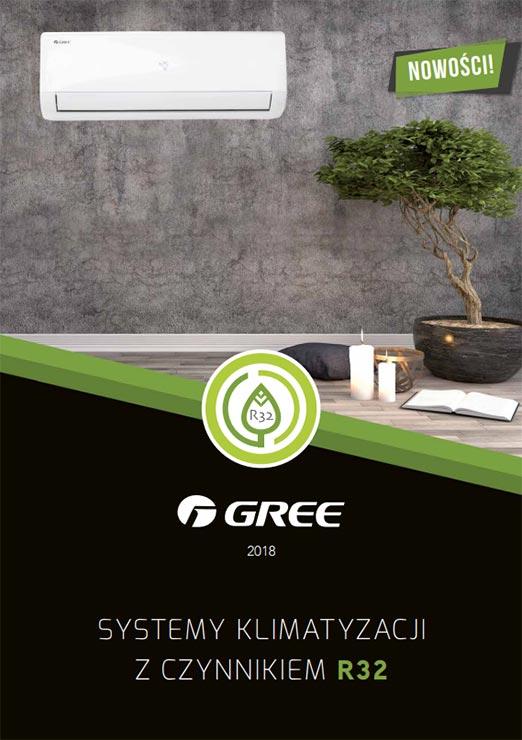 Katalog klimatyzatorów GREE R32 - 2018